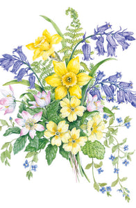 Easter Flowers Easter Card - 5 Pack