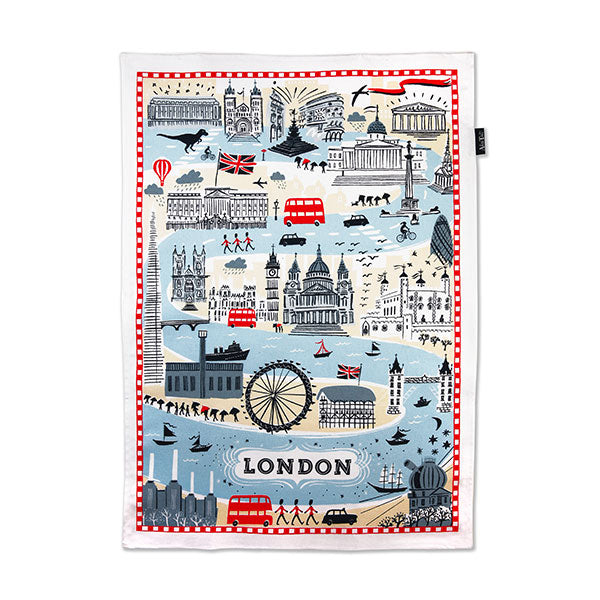 Alice Tait Forever London Tea Towel