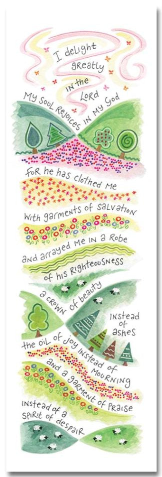 Hannah Dunnett - Garment of Praise Bookmark