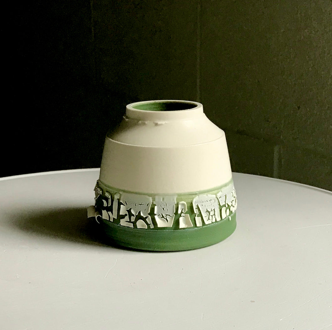 Tidal Inkwell (Green) by Raewyn Harrison