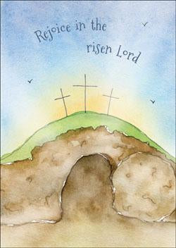 Rejoice in the Risen Lord Easter Card