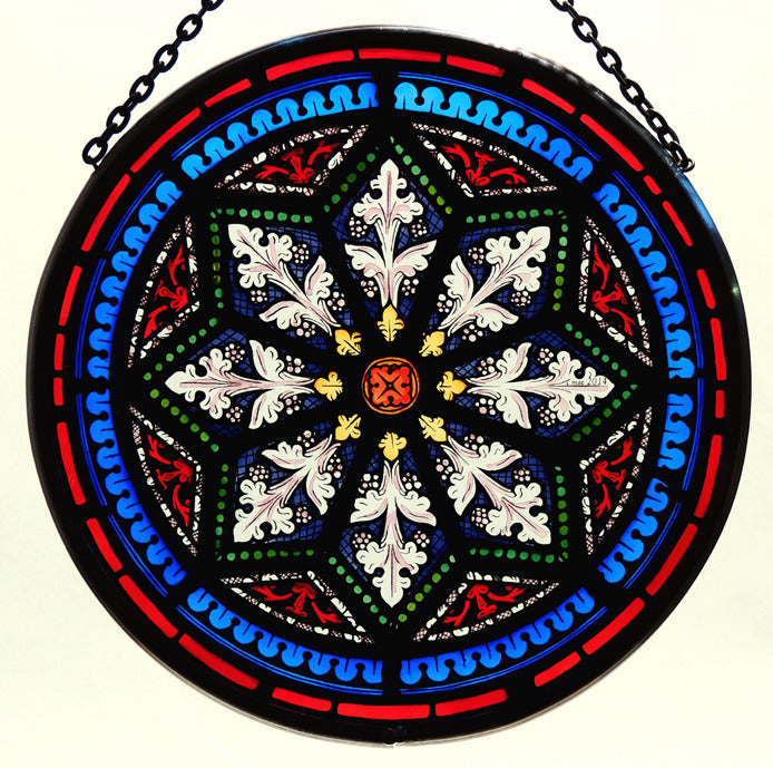 Stained Glass - Star Motif