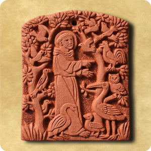 Decorative Tile - Saint Francis