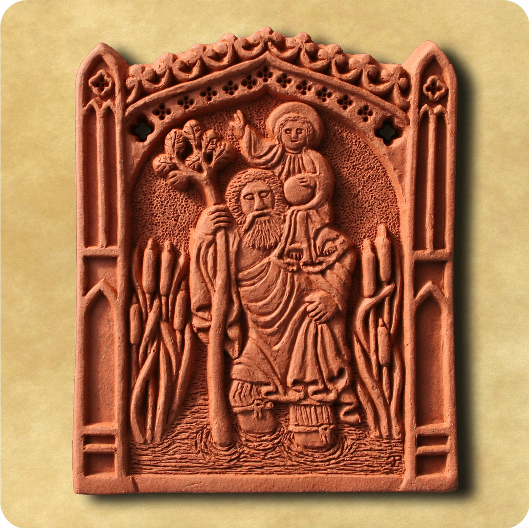 Decorative Tile - Saint Christopher