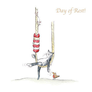 Ecclesiastical Cats - Day of Rest