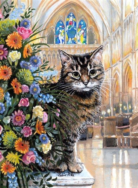 Doorkins Magnificat At Home Greeting Card