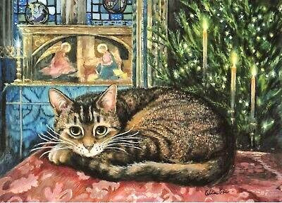 Doorkins Magnificat, Advent Sunday in the Lady Chapel - Christmas Card