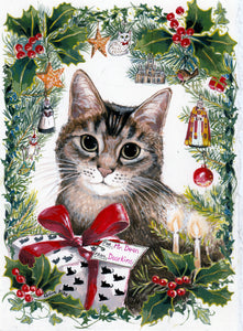 A Purrfect Christmas at Southwark Cathedral - Christmas Card