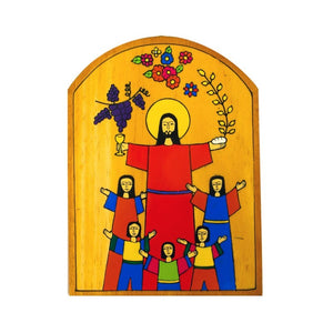Holy Communion Wall Plaque