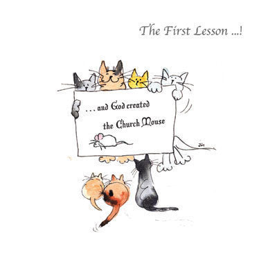Ecclesiastical Cats - The First Lesson...!
