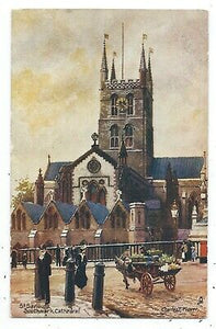 Greeting Card - Southwark Cathedral 1906