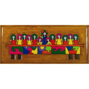 The Last Supper Wall Plaque