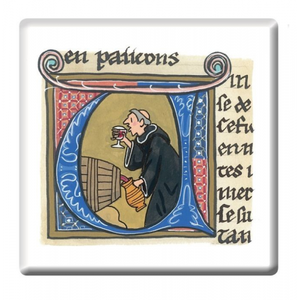 Monks Manuscript Coaster