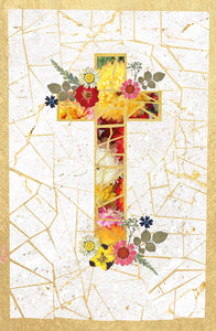 Mosaic Cross Easter Card - 5 Pack