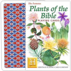 Playing Cards - Plants of the Bible