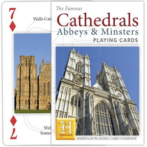 Playing Cards - Cathedrals, Abbeys and Minsters