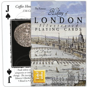 Playing Cards - History of London