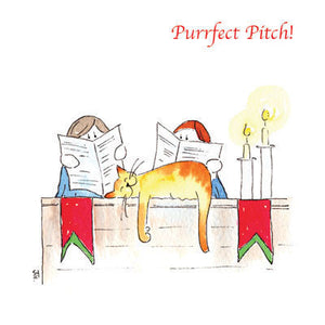 Ecclesiastical Cats - Purrfect Pitch
