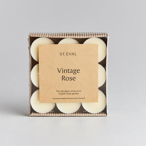 Scented Tea Lights - Vintage Rose