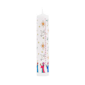 Advent Candle - Wise Men Pillar