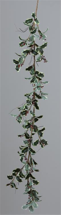 Garland - Varigated Holly with Berries