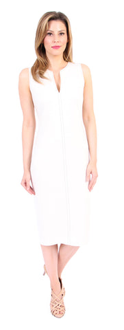 Ashley Tee Dress in Ivory