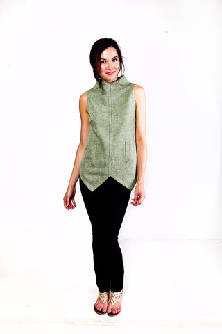 Versatile Vida Tank in Greenleaf