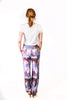 Custom Print Colleen Pant in Blue Floral