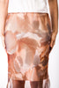 Custom Print Nora Skirt in Peach Floral