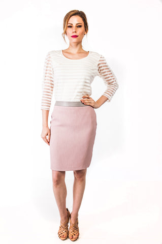 Louise Skirt in Rose