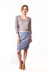 Louise Skirt in Blue