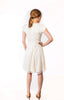 Grace Garden Dress in Ivory