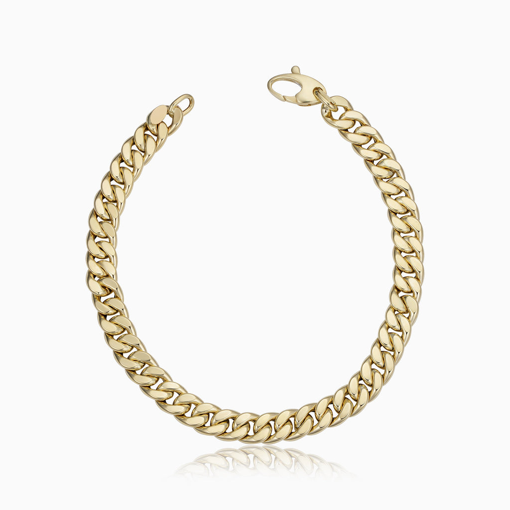 Estate Cuban Link Bracelet