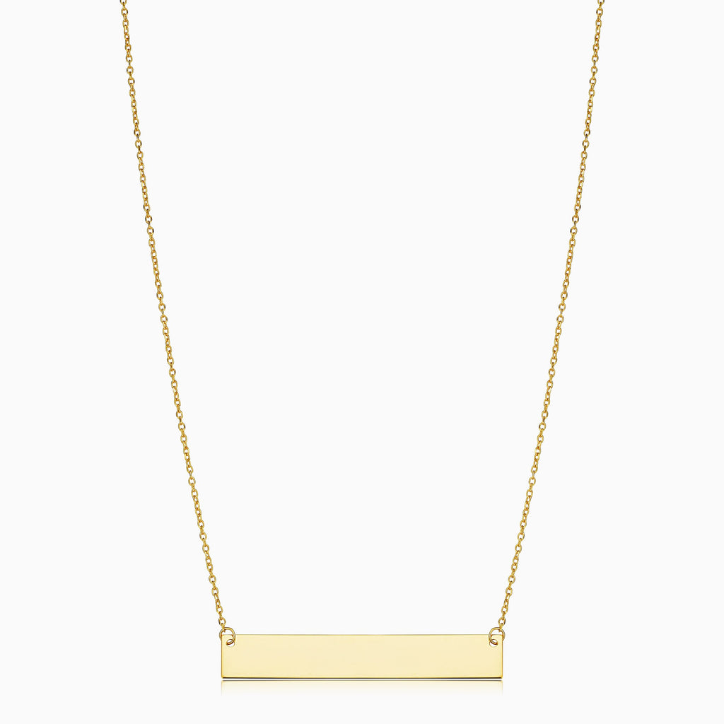 Brooklyn Bar Necklace