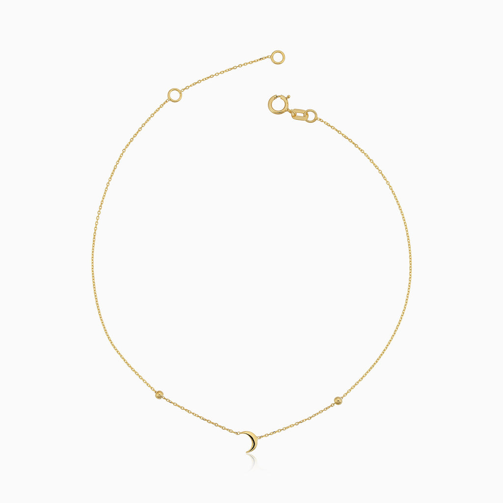 Over the Moon Anklet