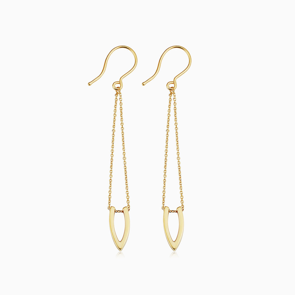 Wishbone Chandelier Earrings
