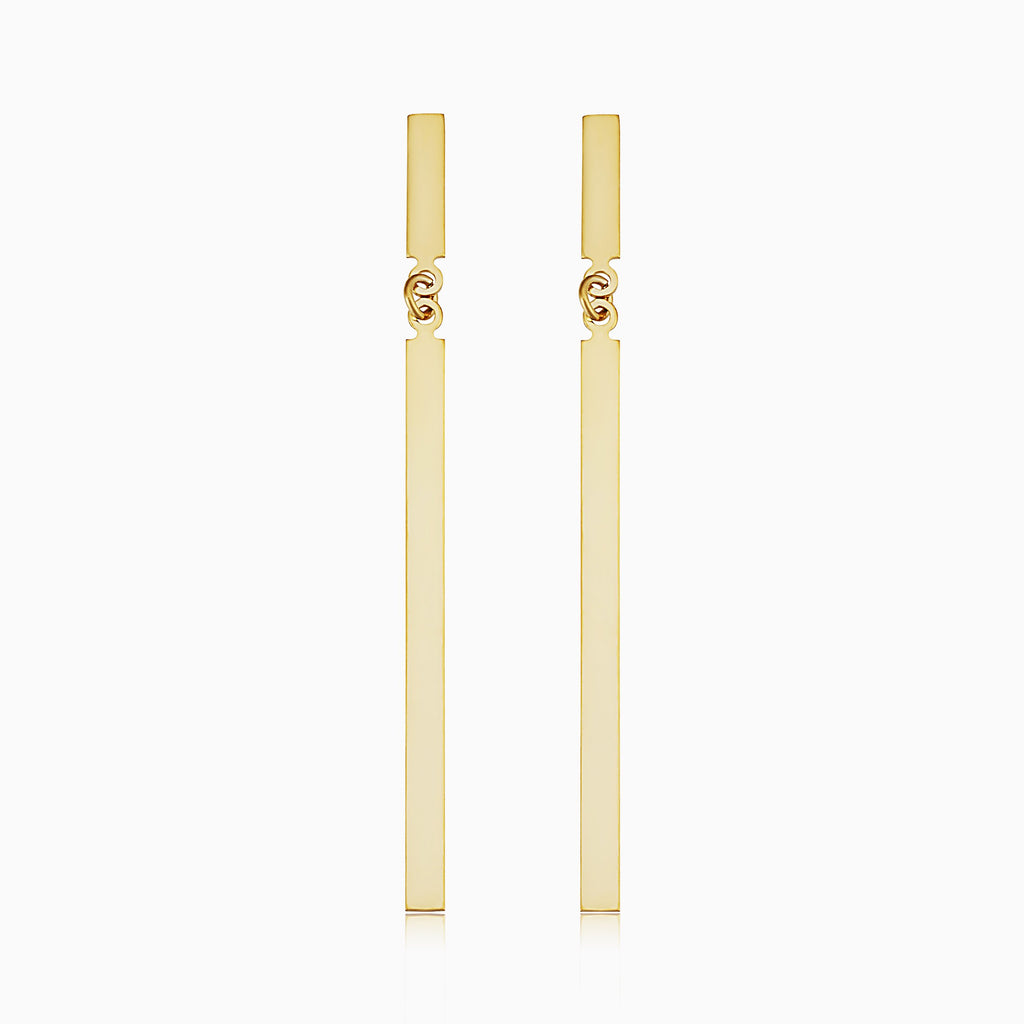 Brooklyn Bar Bold Drop Earrings