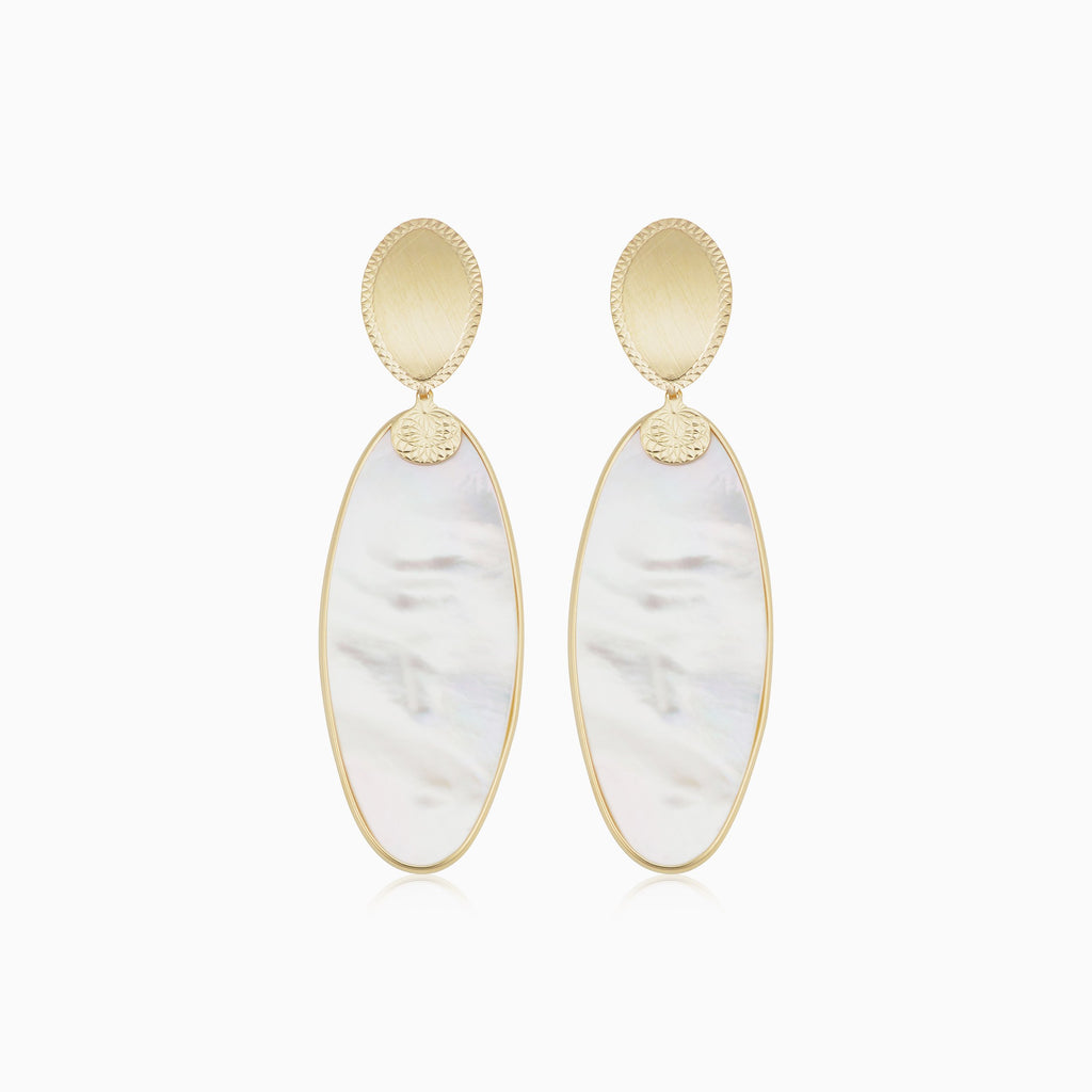 Satin Dreams Drop Earrings
