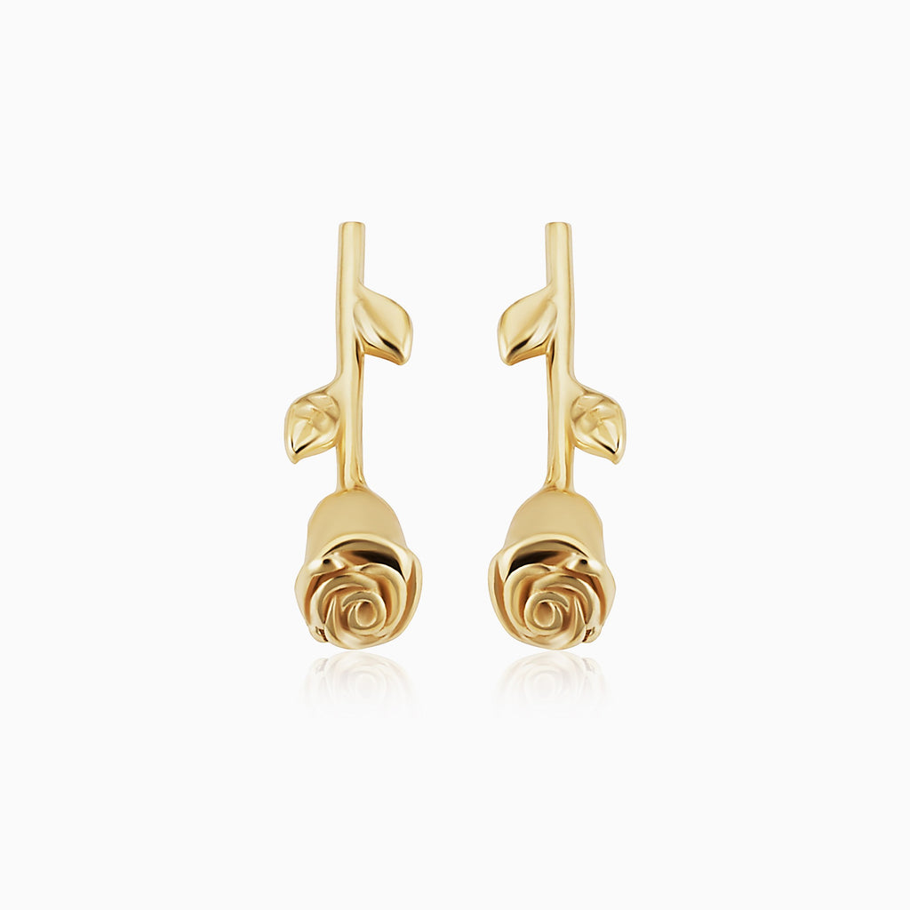 Kiss From A Rose Studs