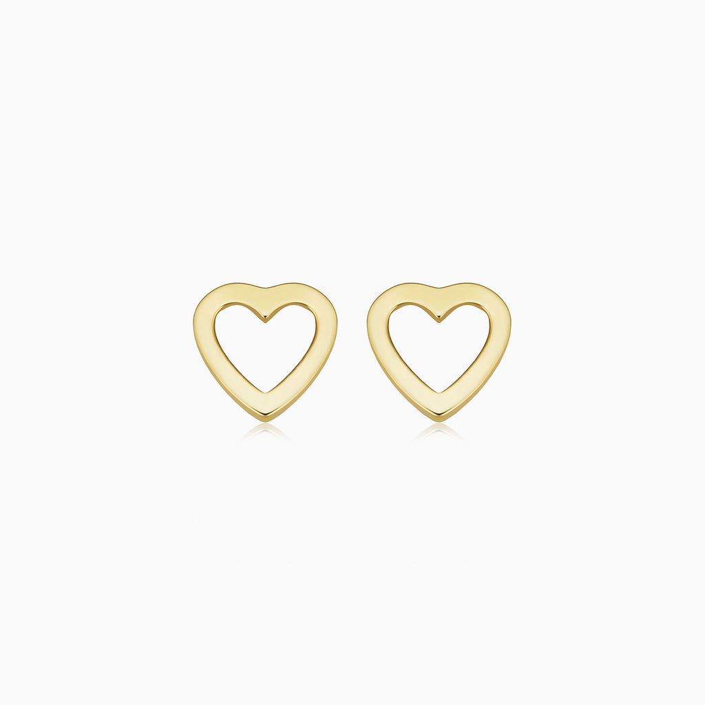 Open Your Heart Studs