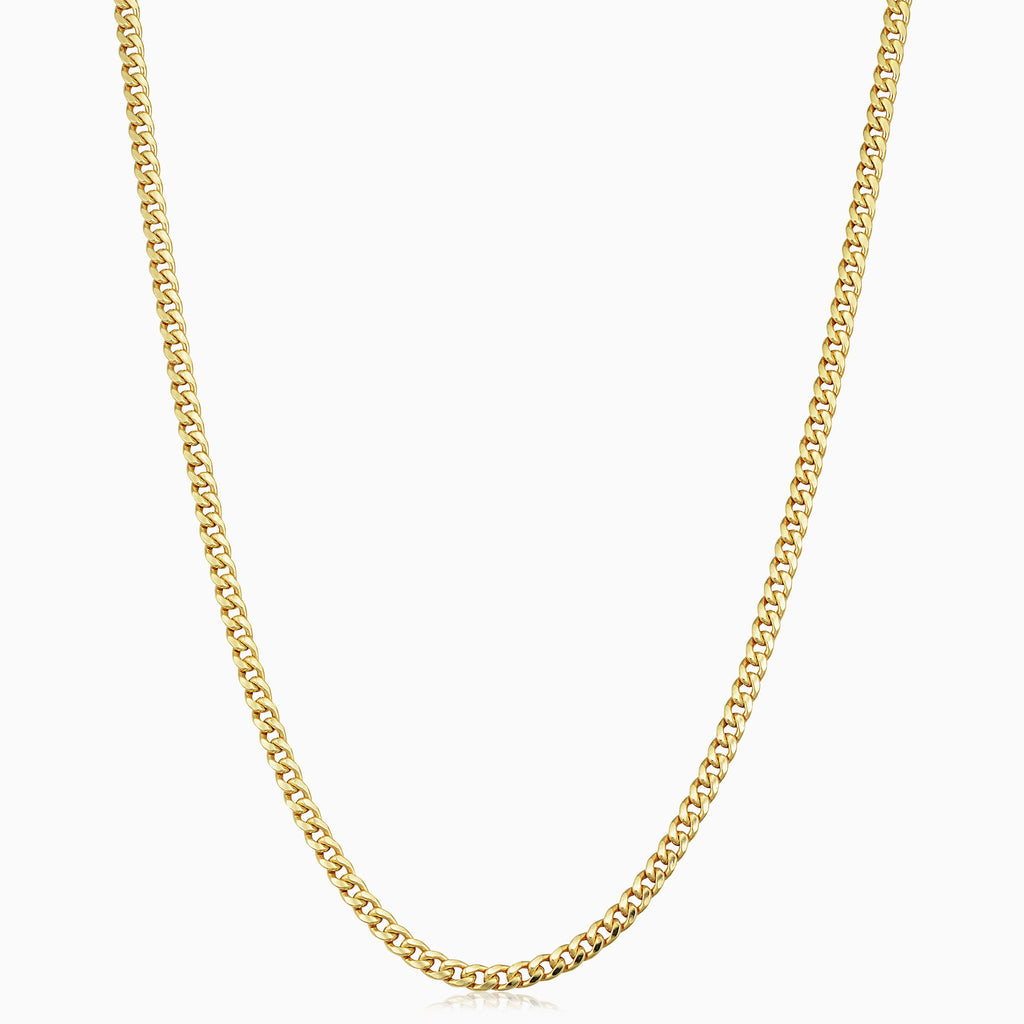 Estate Everyday Cuban Necklace