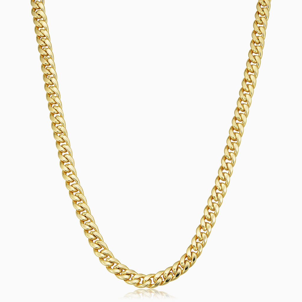 Estate Cuban Link Necklace