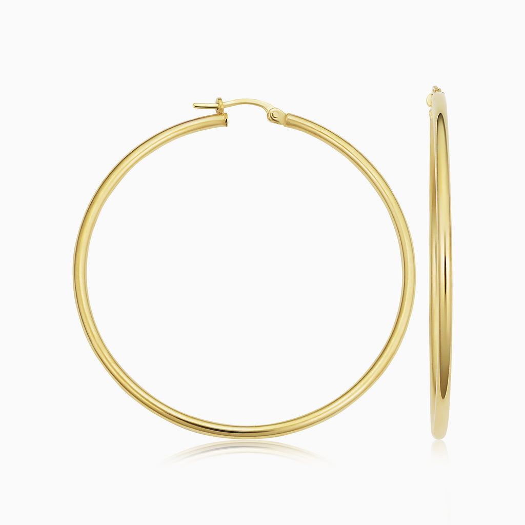 Positano Large Hoops