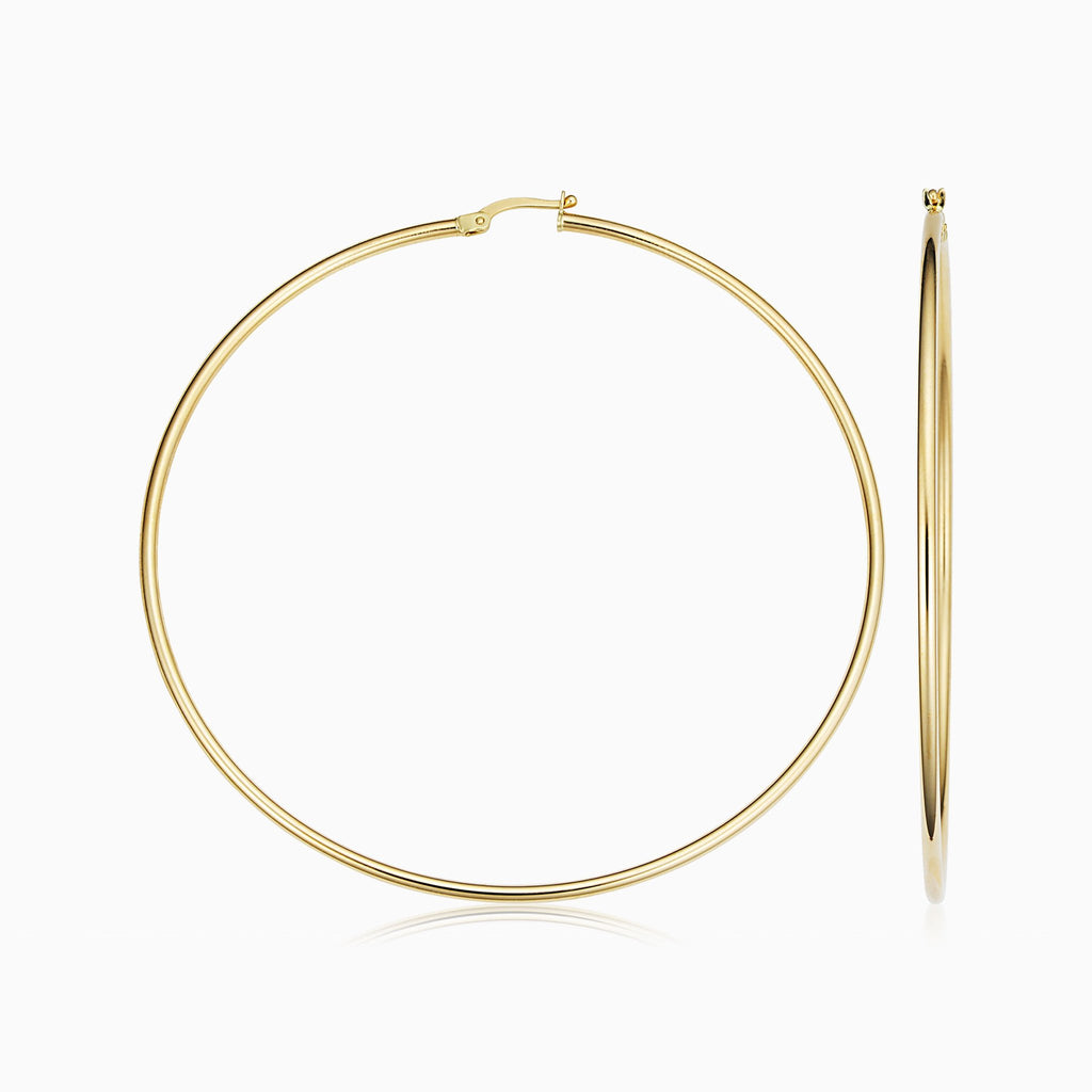 Positano Oversized Hoops