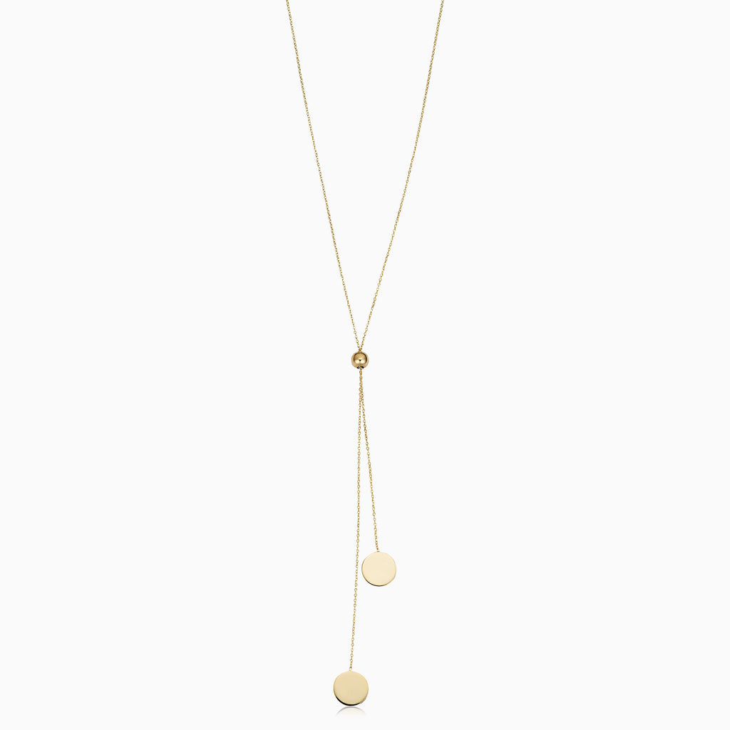 Manhattan Lariat Necklace