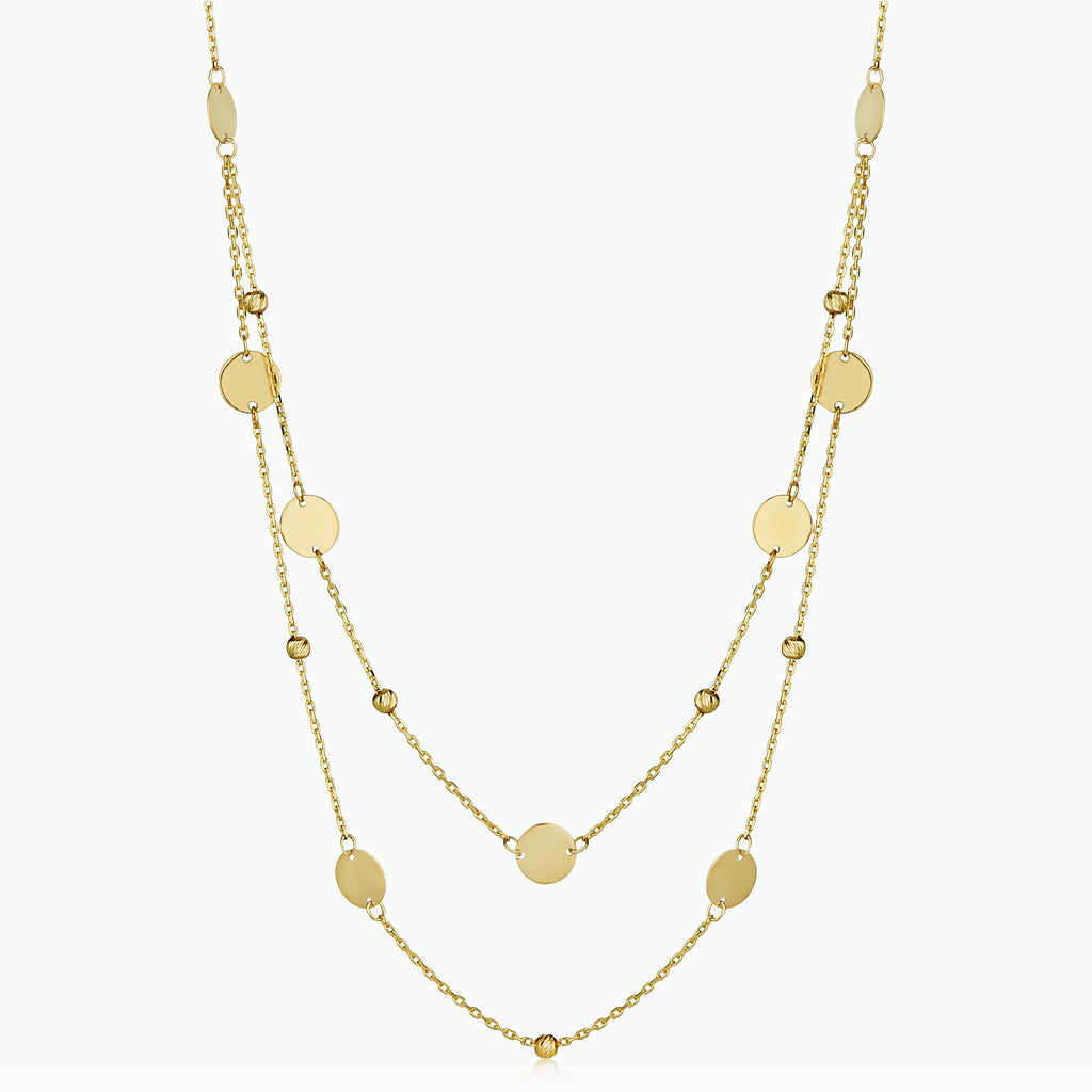 Manhattan Layered Station Necklace