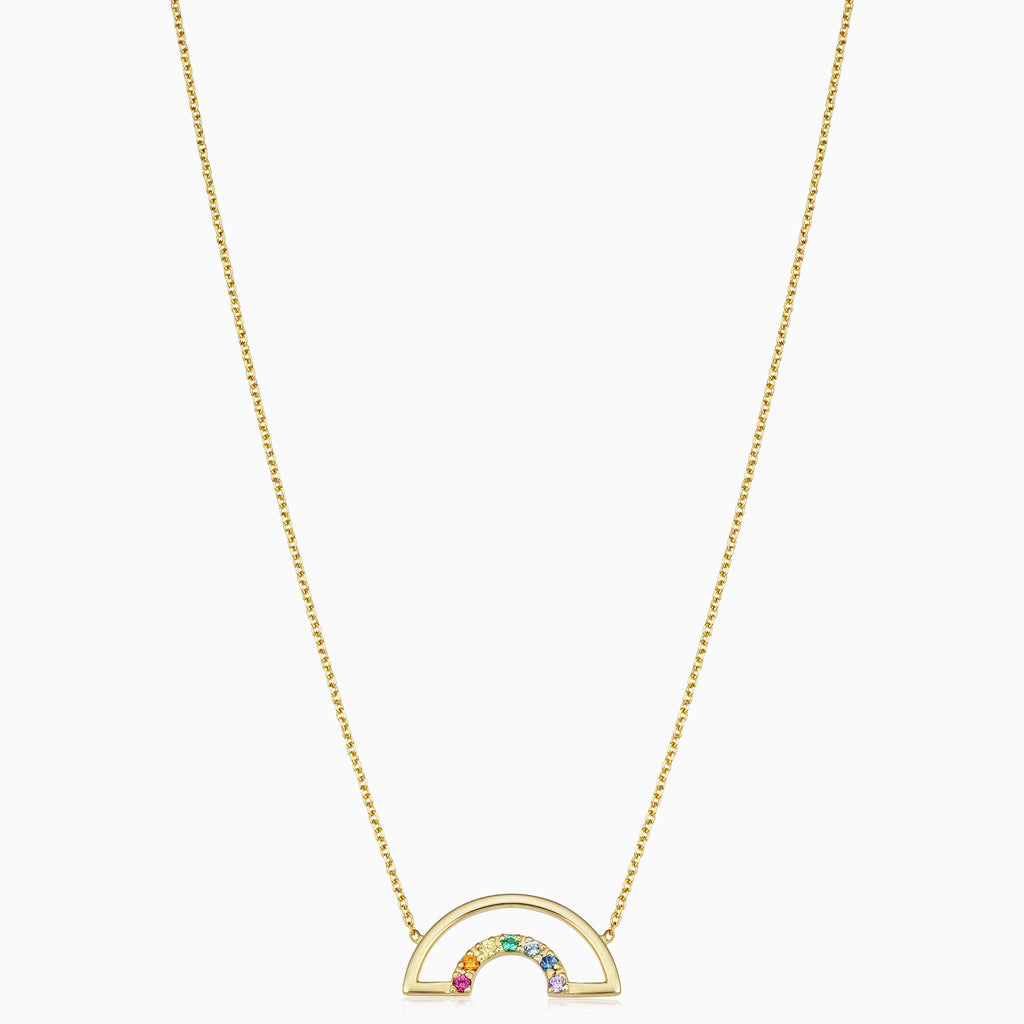 Double Rainbow Necklace