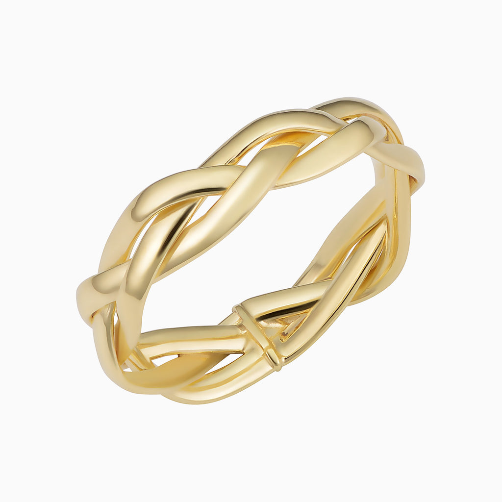 Amore Braided Ring