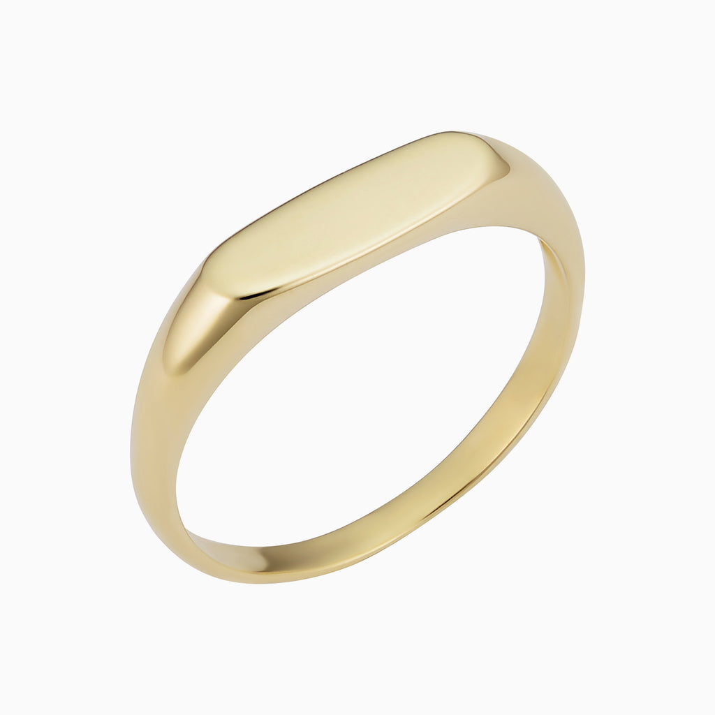 Florence Oval Signet Ring