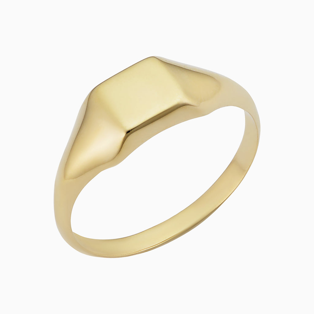 Florence Square Signet Ring